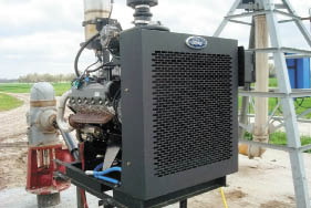 Propane-fueled irrigation engine from Ford